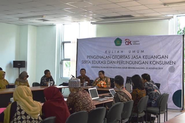 Tingkatkan Literasi Keuangan, OJK Sambangi UIN Malang