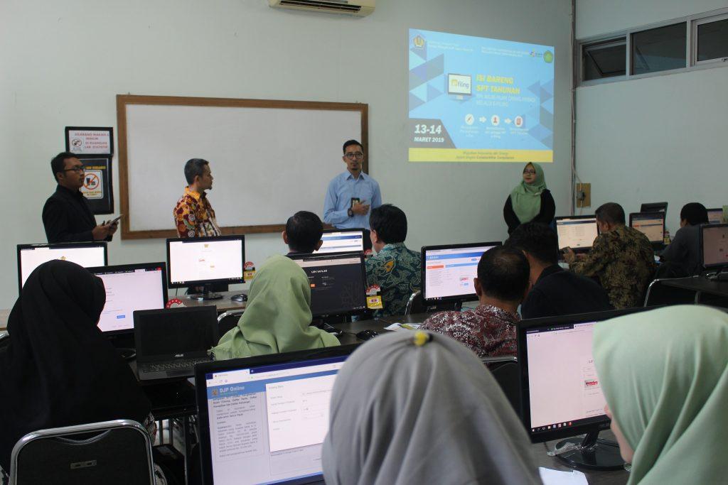 Tax Center Fasilitasi Pengisian SPT Pajak Online