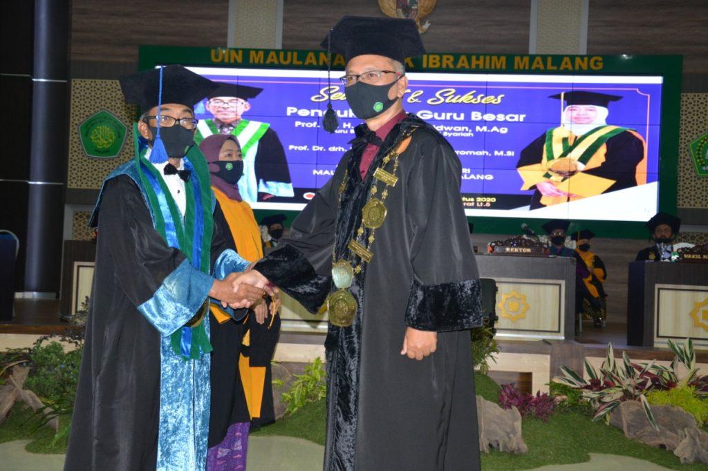 Pengukuhan Guru Besar Prof. Dr. H. A. Muhtadi Ridwan, M.Ag.