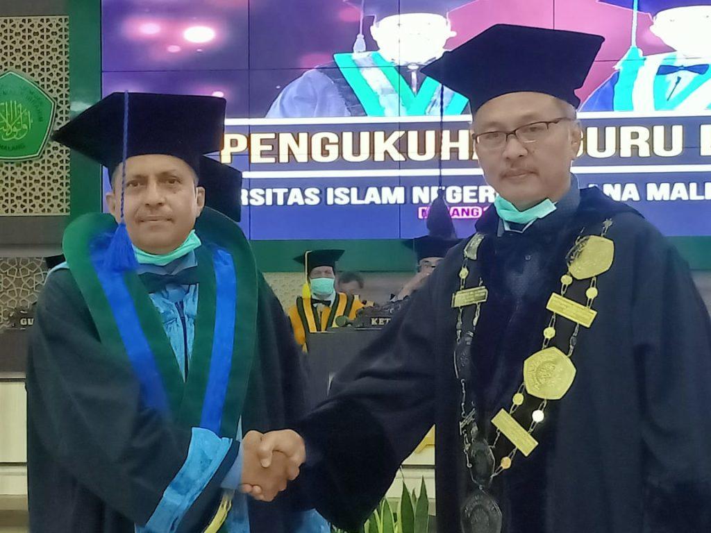 Pengukuhan Guru Besar Prof. Dr. H. Salim Al Idrus, M.M., M.Ag.