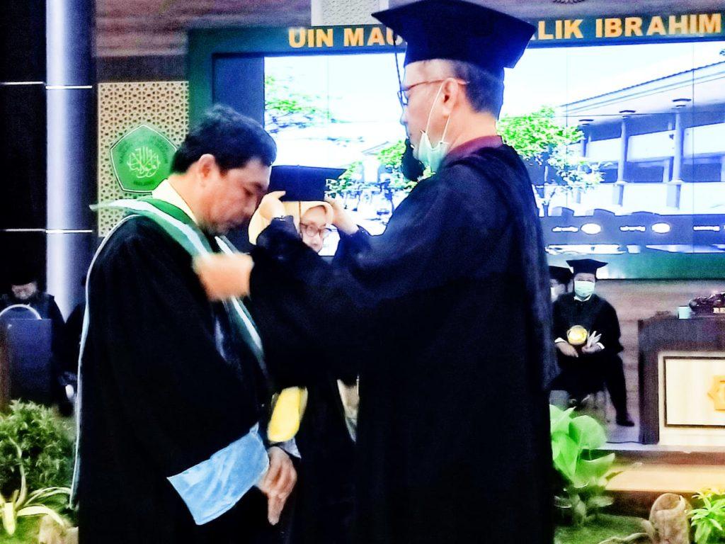 Pengukuhan Guru Besar Prof. Dr. Achmad Sani Supriyanto, M.Si.